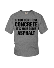 LIMITED CONCRETE FINISHER SHIRT Youth T-Shirt thumbnail