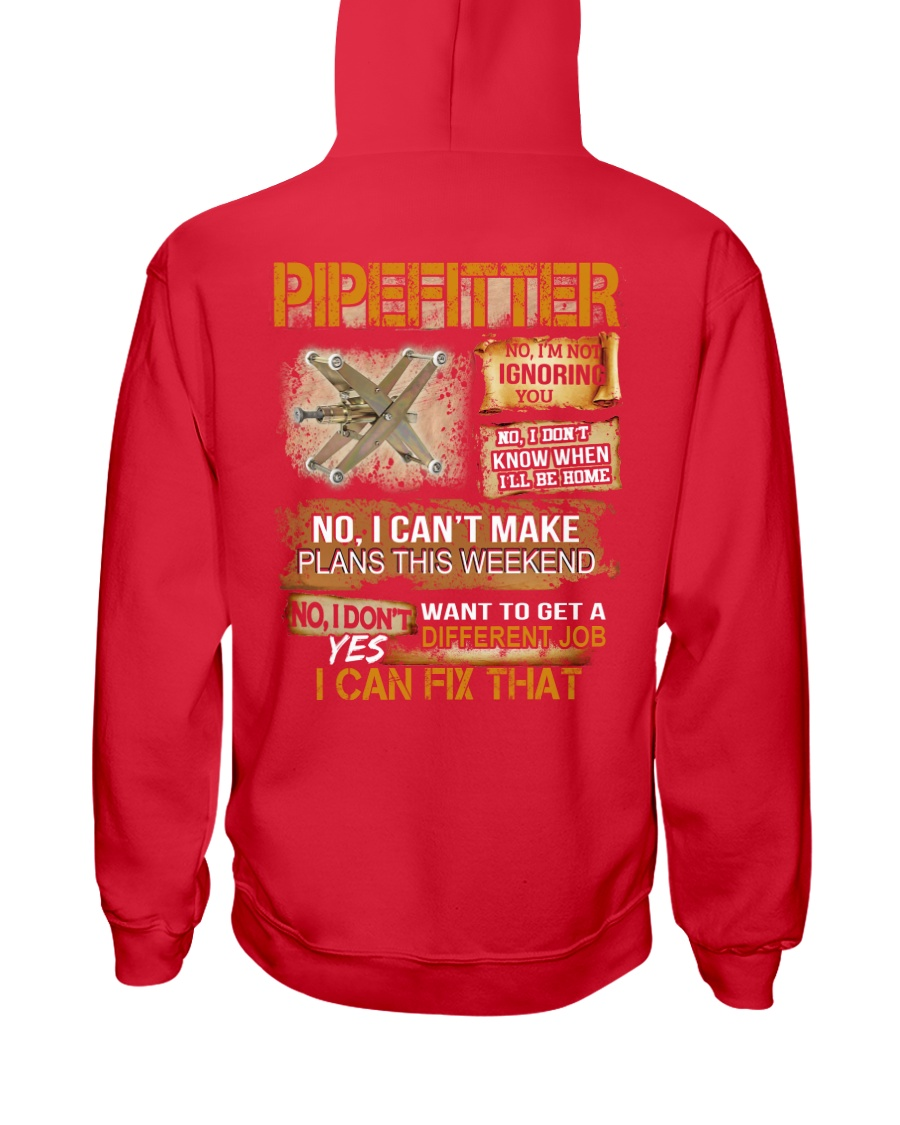 Pipefitter I Can Fix That Hooded Sweatshirt