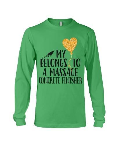 My Belongs To A Massage Concrete Finisher