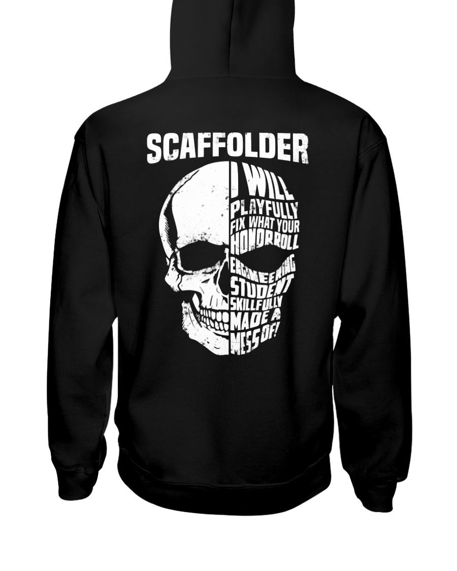 Scaffolder SKull Hooded Sweatshirt