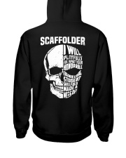 Scaffolder SKull Hooded Sweatshirt back