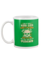 Sweat Dries Blood Clots Burns Heal Suck It Up Mug back
