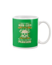 Sweat Dries Blood Clots Burns Heal Suck It Up Mug front