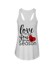 Love me like you storm season Ladies Flowy Tank thumbnail