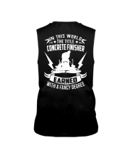 In This World The Title Concrete Finisher Sleeveless Tee thumbnail