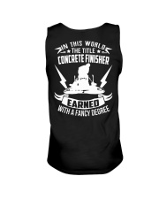 In This World The Title Concrete Finisher Unisex Tank thumbnail