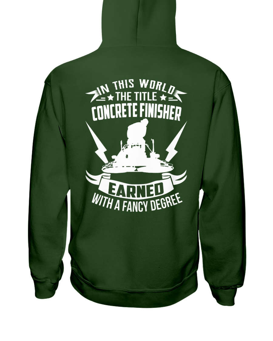 In This World The Title Concrete Finisher Hooded Sweatshirt