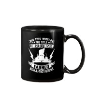 In This World The Title Concrete Finisher Mug thumbnail
