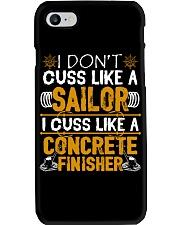 I Don't Cus Like A Sailor I Cuss Like A Concrete Phone Case thumbnail