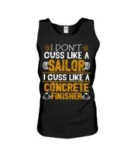I Don't Cus Like A Sailor I Cuss Like A Concrete Unisex Tank thumbnail