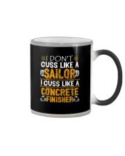 I Don't Cus Like A Sailor I Cuss Like A Concrete Color Changing Mug thumbnail