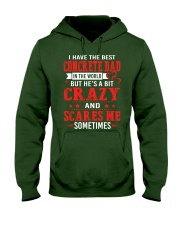 I Have The Best Concrete Dad In The World Hooded Sweatshirt front