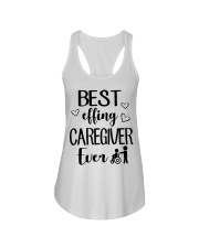 Best Effing Caregiver Ever Ladies Flowy Tank thumbnail