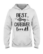 Best Effing Caregiver Ever Hooded Sweatshirt thumbnail