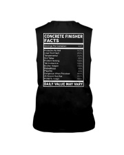 Concrete Finisher Facts Sleeveless Tee thumbnail