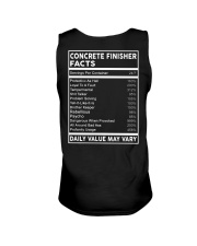 Concrete Finisher Facts Unisex Tank tile