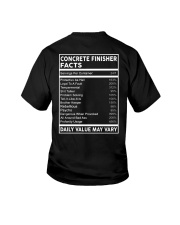Concrete Finisher Facts Youth T-Shirt thumbnail