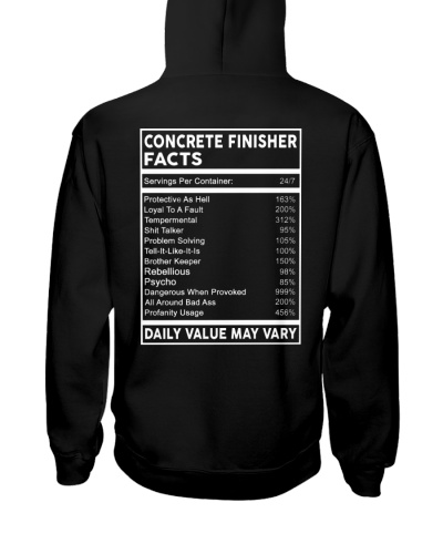 Concrete Finisher Facts