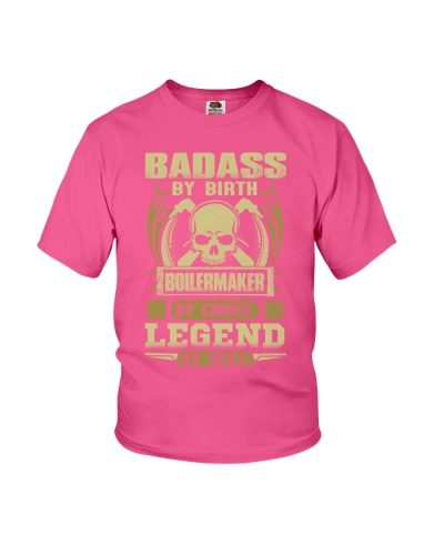 Badass By Birth Boilermaker By Choice Legend