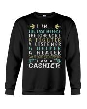 I am A Cashier Crewneck Sweatshirt thumbnail