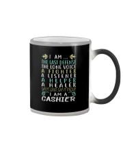 I am A Cashier Color Changing Mug thumbnail