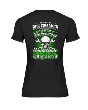 We the willing Boilermaker led by the unknowing Premium Fit Ladies Tee thumbnail