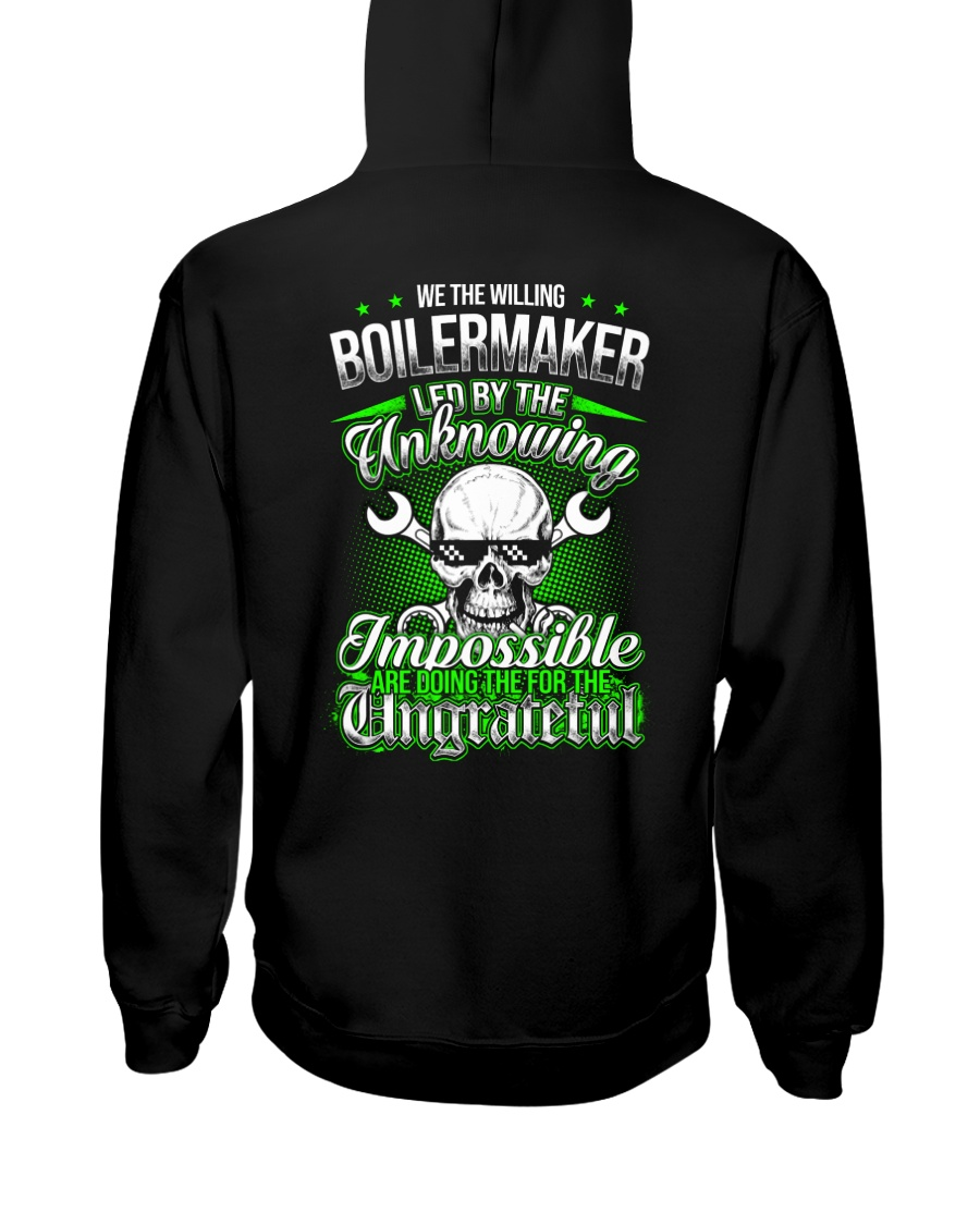 We the willing Boilermaker led by the unknowing Hooded Sweatshirt