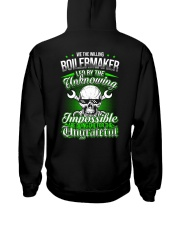 We the willing Boilermaker led by the unknowing Hooded Sweatshirt back