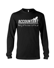 Accountant beating off the ladies is half the job Long Sleeve Tee thumbnail