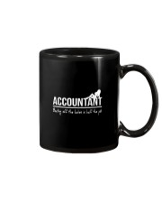 Accountant beating off the ladies is half the job Mug thumbnail