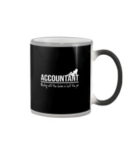 Accountant beating off the ladies is half the job Color Changing Mug thumbnail