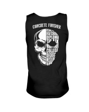 Concrete Finisher Skull Unisex Tank thumbnail
