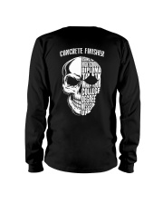 Concrete Finisher Skull Long Sleeve Tee thumbnail