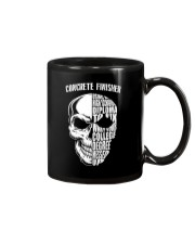 Concrete Finisher Skull Mug thumbnail