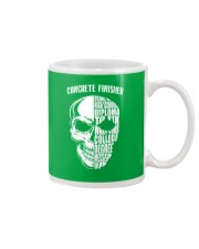 Concrete Finisher Skull Mug front