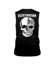Electrician Skull Sleeveless Tee thumbnail