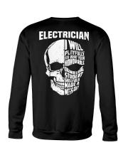 Electrician Skull Crewneck Sweatshirt thumbnail