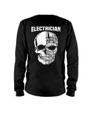 Electrician Skull Long Sleeve Tee thumbnail
