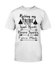 Native Raising My Tribe To Have Kind Hearts Classic T-Shirt front