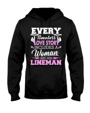 Every timeless love story includes a woman Hooded Sweatshirt thumbnail