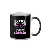 Every timeless love story includes a woman Color Changing Mug thumbnail