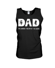 Dad the Lineman the myth the lengend Unisex Tank thumbnail