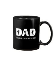 Dad the Lineman the myth the lengend Mug thumbnail