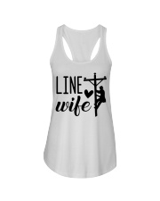Line Wife  Ladies Flowy Tank thumbnail