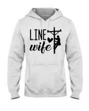 Line Wife  Hooded Sweatshirt thumbnail