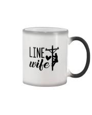 Line Wife  Color Changing Mug thumbnail