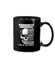 Concrete Finisher Skull Mug tile