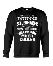 I'm a tattooed Boilermaker Crewneck Sweatshirt thumbnail