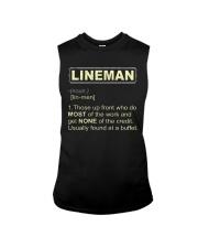 Lineman noun 2020 Sleeveless Tee thumbnail