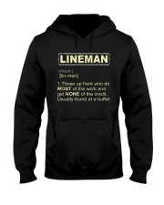 Lineman noun 2020 Hooded Sweatshirt thumbnail